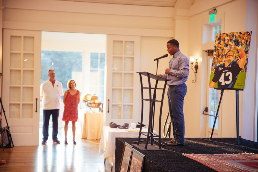 lutzie 43's pfl scholarship award ceremony at pursell farms